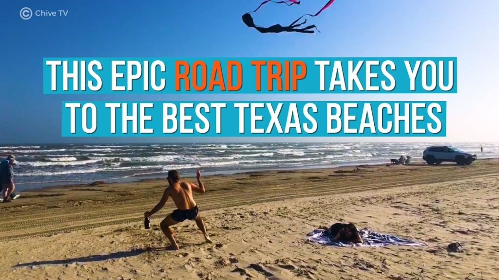 10 Best Beaches In Texas (With Photos & Map) - Tripstodiscover - Texas Gulf Coast Beaches Map