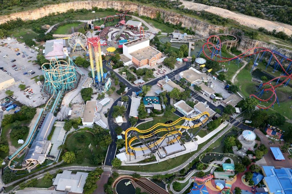 10 Life Hacks To Save Money, Time At San Antonio's Six Flags Fiesta - Six Flags Fiesta Texas Map 2018