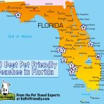10 Of The Best Pet Friendly Beaches In Florida | Gopetfriendly   Map Of Florida Cities And Beaches
