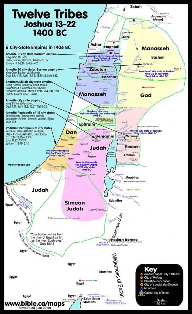 100 Free Printable Public Use Bible Maps | Bible Chronology - Printable Bible Maps