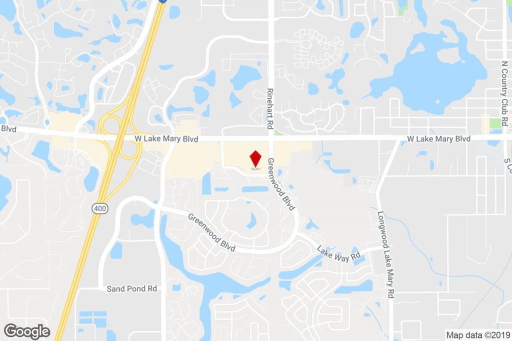 1061 S Sun Dr, Lake Mary, Fl, 32746 - Storefront Retail/office - Lake Mary Florida Map