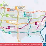 11 Epic Cross Country American Road Trips | Road Trip Usa   Wisconsin To Florida Road Trip Map
