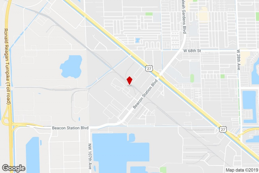 11725 Nw 100Th Rd, Medley, Fl, 33178 - Warehouse Property For Lease - Medley Florida Map
