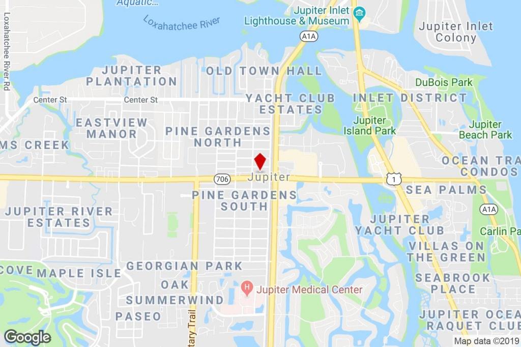 125 W Indiantown Rd, Jupiter, Fl, 33458 - Medical Property For Sale - Jupiter Island Florida Map