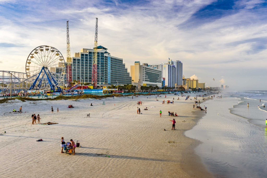13 Best Beaches Near Orlando For Tanning, Surfing And More - Map Of Florida Beaches Near Orlando