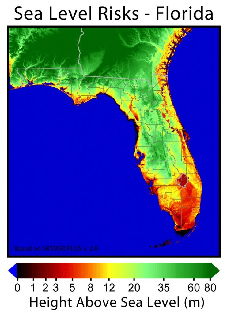 13 Terms Florida's Department Of Environmental Protection Can Use - Florida Map After Global Warming