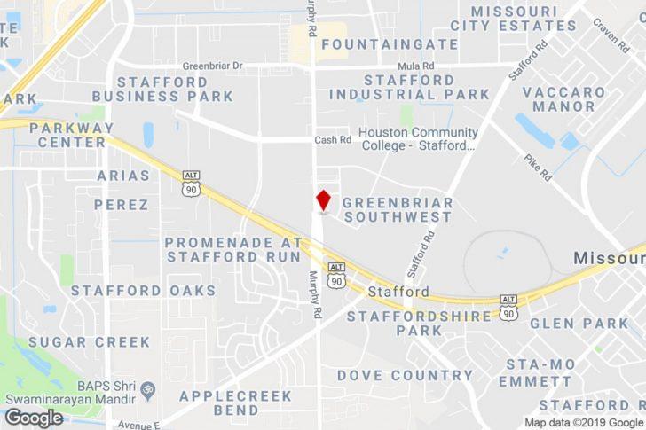 Stafford Texas Map
