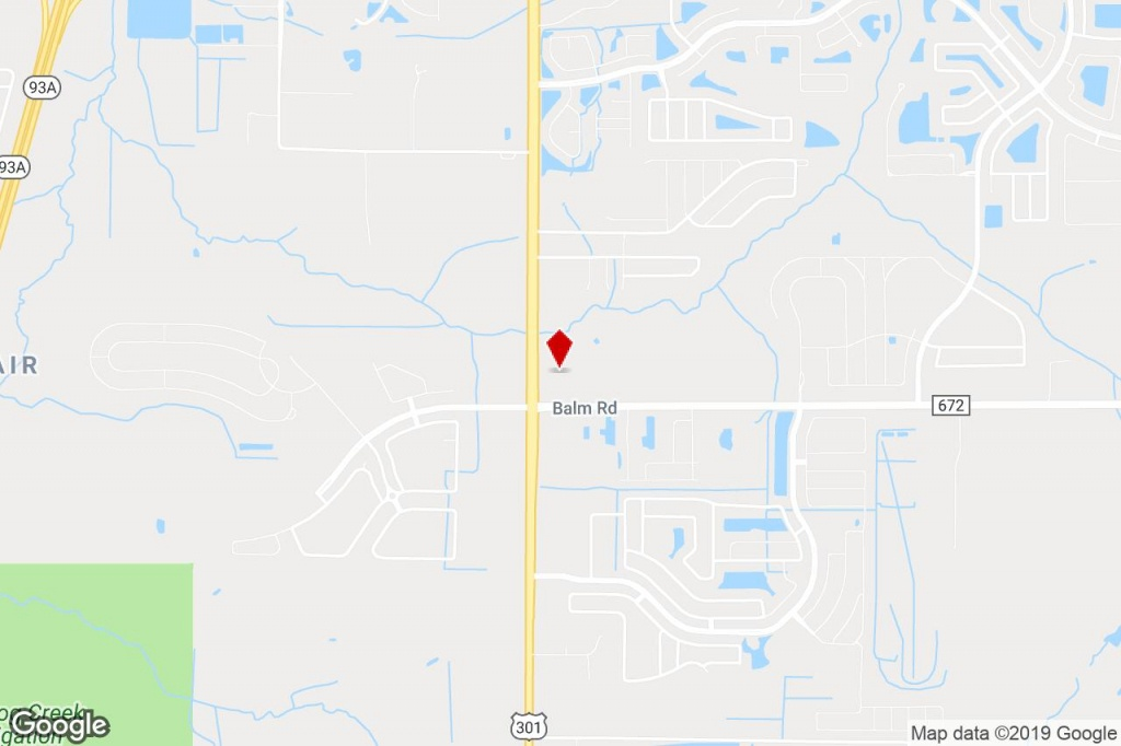 14206 S 301 Hwy, Riverview, Fl, 33578 - Commercial Property For Sale - Riverview Florida Map