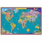14964 1 1200Px Children S Map Of The World 9   World Wide Maps   Children's Map Of The World Printable