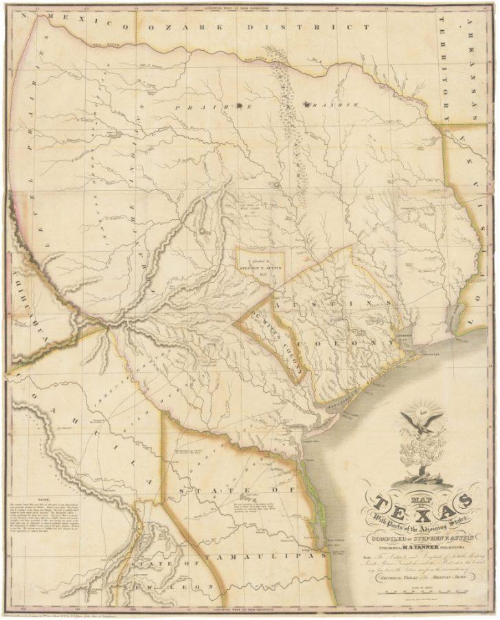 Old Texas Maps Prints