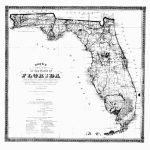 1870 Fl Map Port Salerno St John St Lucie Princeton Punta Gorda   Port St John Florida Map
