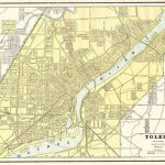 1892 Antique Toledo Ohio Map Vintage Collectible Map Of Toledo Oh   Printable Map Of Toledo Ohio
