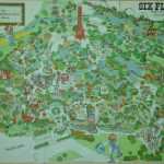 1970S Six Flags Over Texas Map. This Is How The Park Looked When I   Six Flags Over Texas Map App