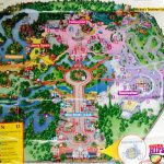 1997 Magic Kingdom Park Map   Themeparkhipster   Magic Kingdom Florida Map