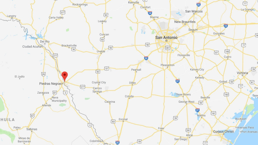 2,000 Migrants Expected To Arrive In Mexican Border Town - Google Maps Eagle Pass Texas
