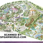 2005Parkmap Great America Park Map 1   World Wide Maps   Six Flags Great America Printable Park Map