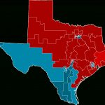 2012 United States House Of Representatives Elections In Texas   Texas Us Senate District Map