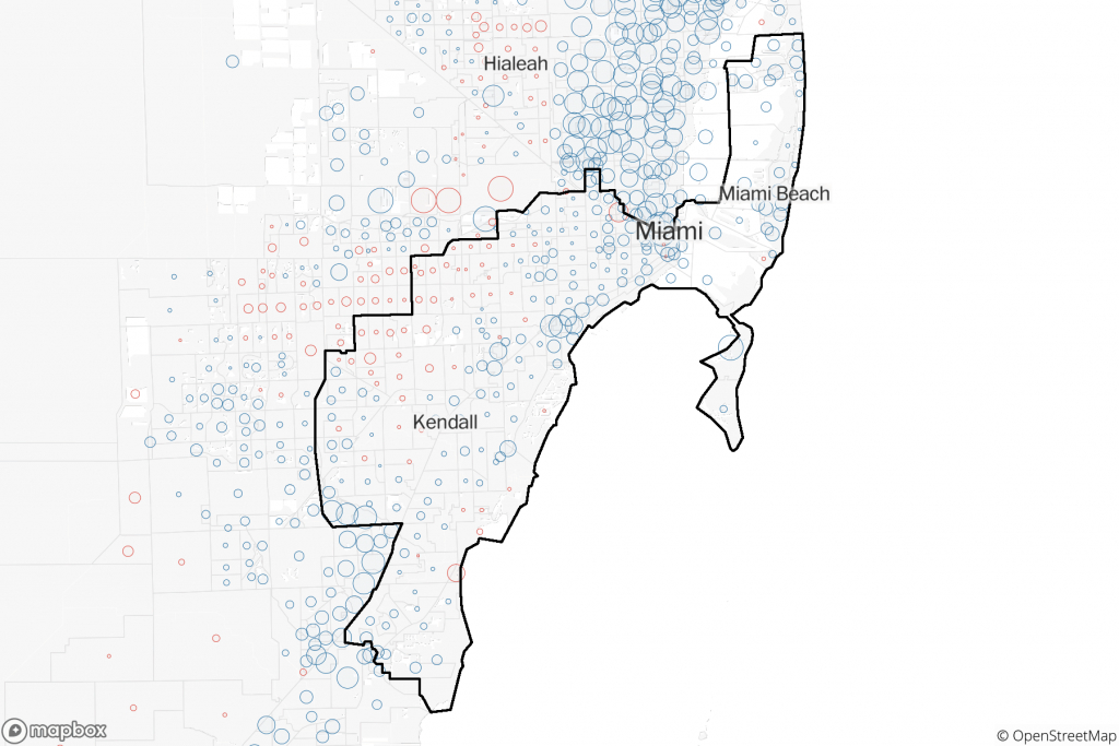 2018 Precinct-Level Results: Detailed Maps Show How Key - District 27 Florida Map