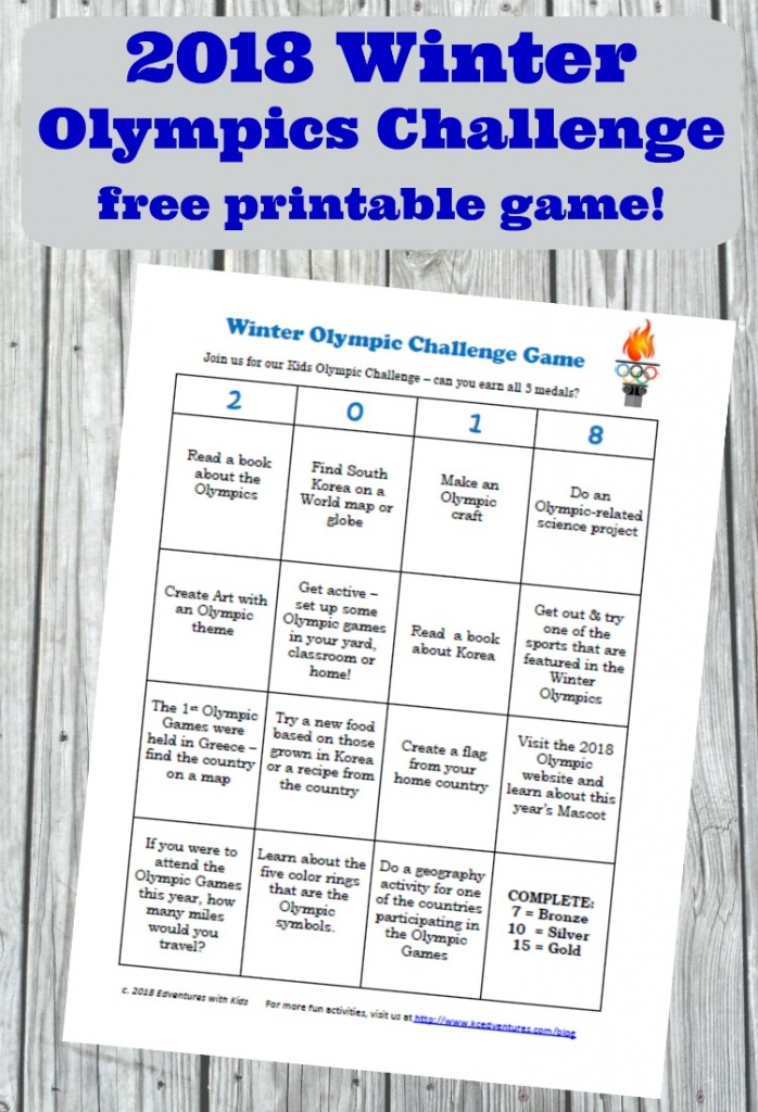 2018 Winter Olympic Lesson Plan & Teaching Resources - Edventures - Printable Map Activities