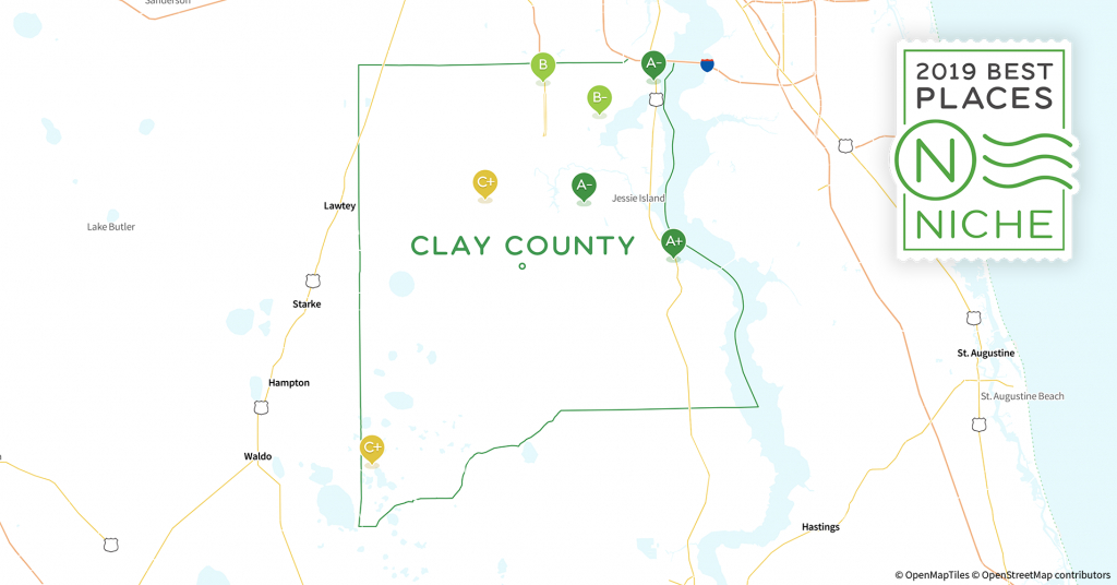 2019 Best Places To Live In Clay County, Fl - Niche - Fleming Island Florida Map