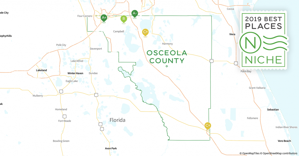 2019 Best Places To Live In Osceola County, Fl - Niche - Map Of Osceola County Florida