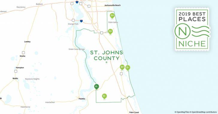 St Johns Florida Map