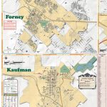 2019 Edition Map Of Kaufman County, Tx Pages 1   4   Text Version   Kaufman Texas Map