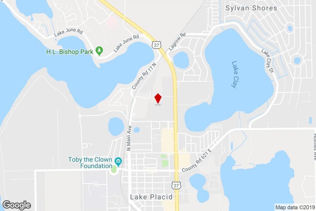 204 Heartland Blvd, Lake Placid, Fl, 33852 - Residential Property - Lake Placid Florida Map