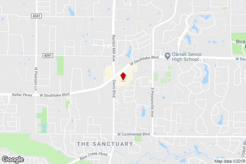 2201 W Southlake Blvd, Southlake, Tx, 76092 - Freestanding Property - Southlake Texas Map
