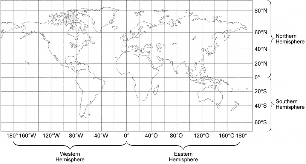 23 World Map With Latitude And Longitude Lines Pictures - Us Map With Latitude And Longitude Printable