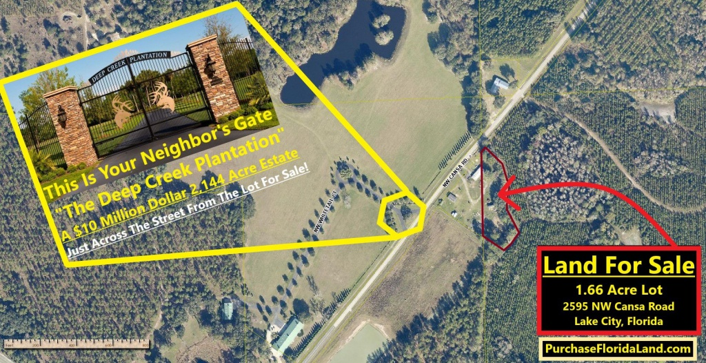 2595 Nw Cansa Rd, Lake City, Fl 32055 - 2 Bed Lot/land - 18 Photos - Map Of Lake City Florida And Surrounding Area