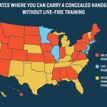 26 States Will Let You Carry A Concealed Gun Without Making Sure You   Texas Reciprocity Map 2017