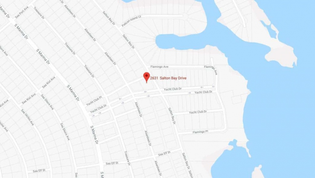 2631 Salton Bay Dr Thermal, California   Terrenos Na Florida - Thermal California Map