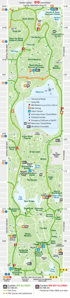 27 Things To Do In Central Park | Free Toursfoot - Printable Map Of Central Park New York