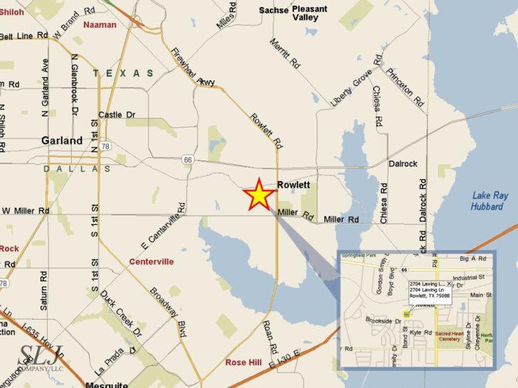 Rowlett Texas Map