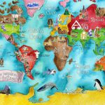 283205 925979 Children S Map Of The World 8   World Wide Maps   Children\'s Map Of The World Printable