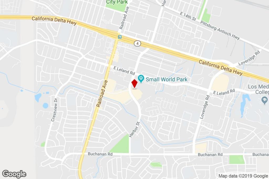 2931-2951 Harbor St, Pittsburg, Ca, 94565 - Freestanding Property - Pittsburg California Map