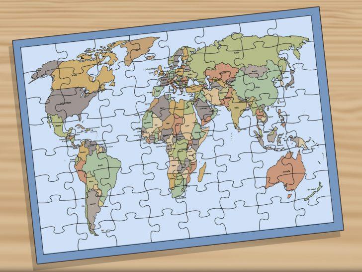 World Map Test Printable