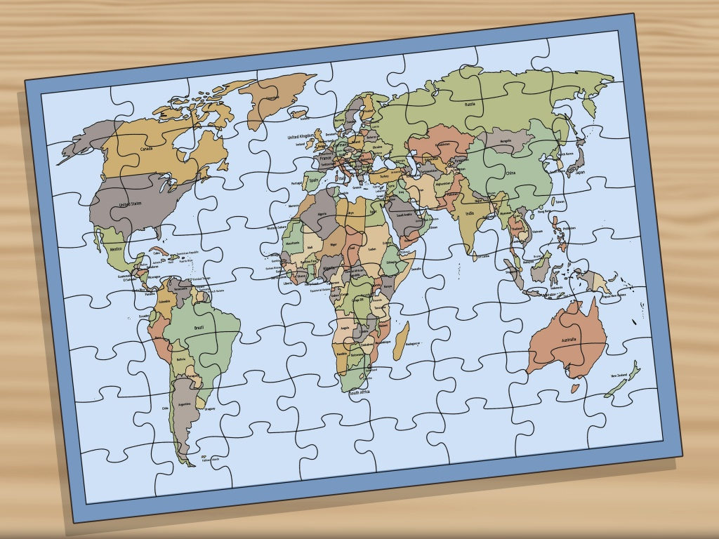3 Ways To Memorise The Locations Of Countries On A World Map - World Map Test Printable