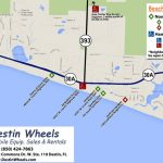 30A & Destin Beach Access   Destin Wheels Rentals In Destin, Fl   Where Is Destin Florida Located On The Florida Map