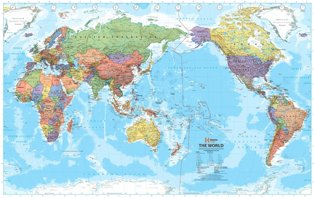 32 Inspiring Map Centered On Pacific Ocean - Printable World Map Pacific Centered