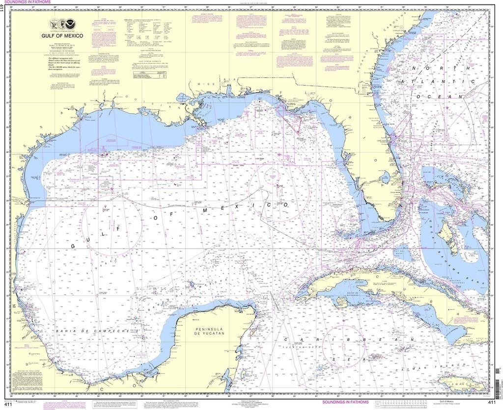 35 Gulf Of Mexico Depth Chart Beste - Water Depth Map Florida