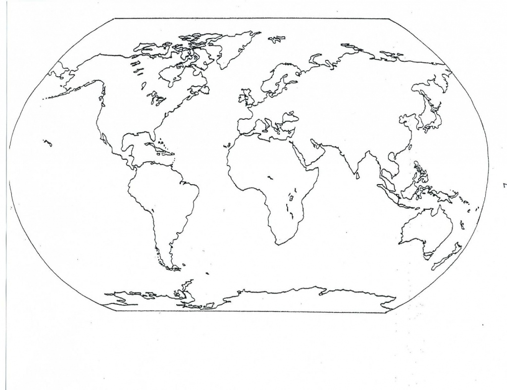38 Free Printable Blank Continent Maps | Kittybabylove - Printable Map Of Continents