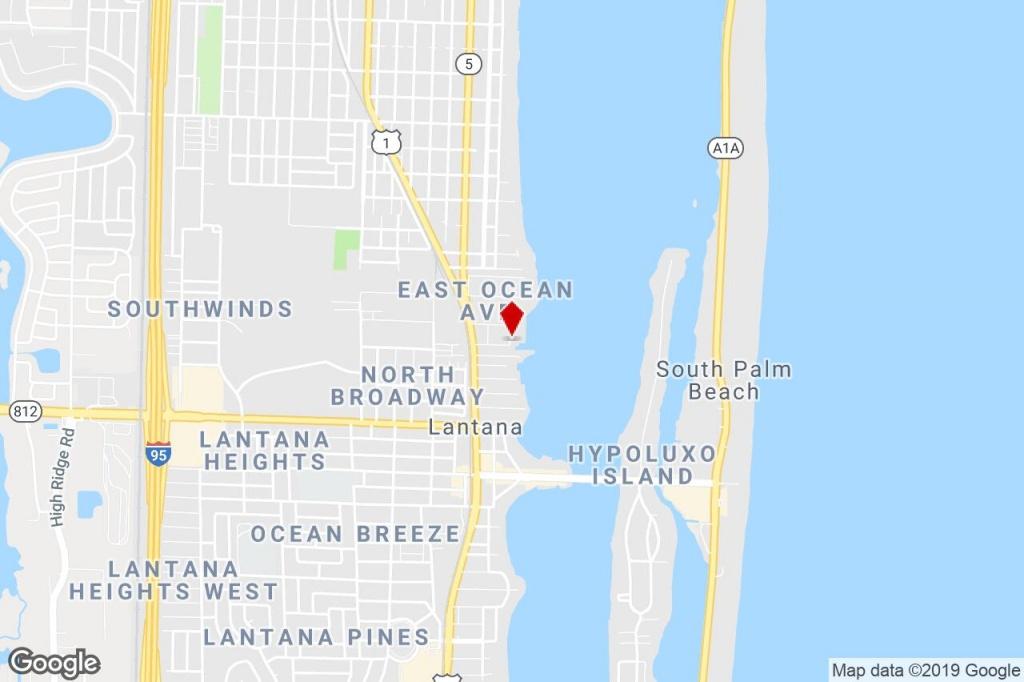381 Moorings Dr, Lantana, Fl, 33462 - Office/residential Property - Lantana Florida Map