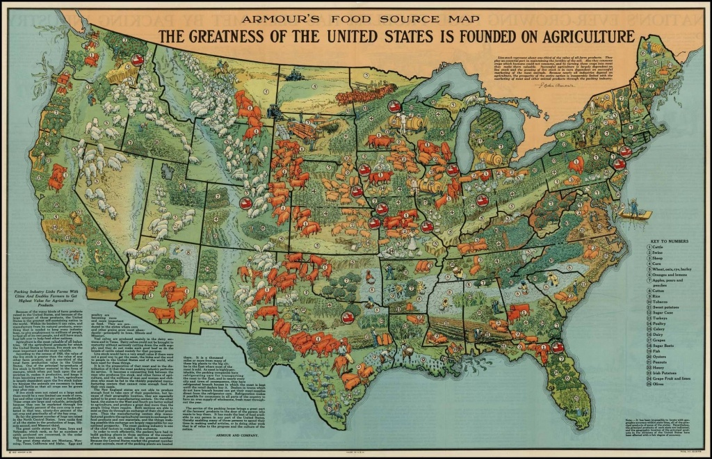 40 Maps That Explain Food In America | Vox - Texas Wheat Production Map