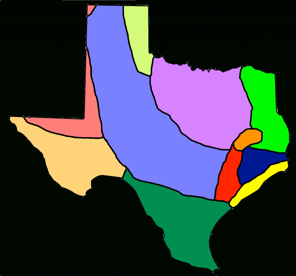 4Th_Unit 1_3 | Social Studies Resource Center - Texas Indian Tribes Map