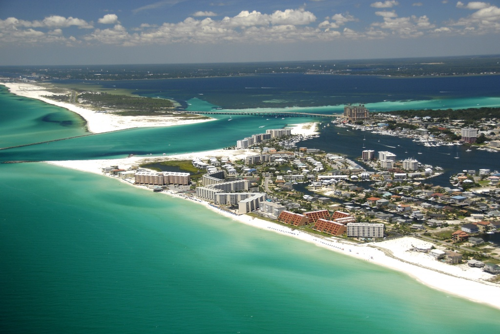 5 Emerald Coast Beaches With Sugar White Sand | Visit Florida - Panama City And Destin Florida Map