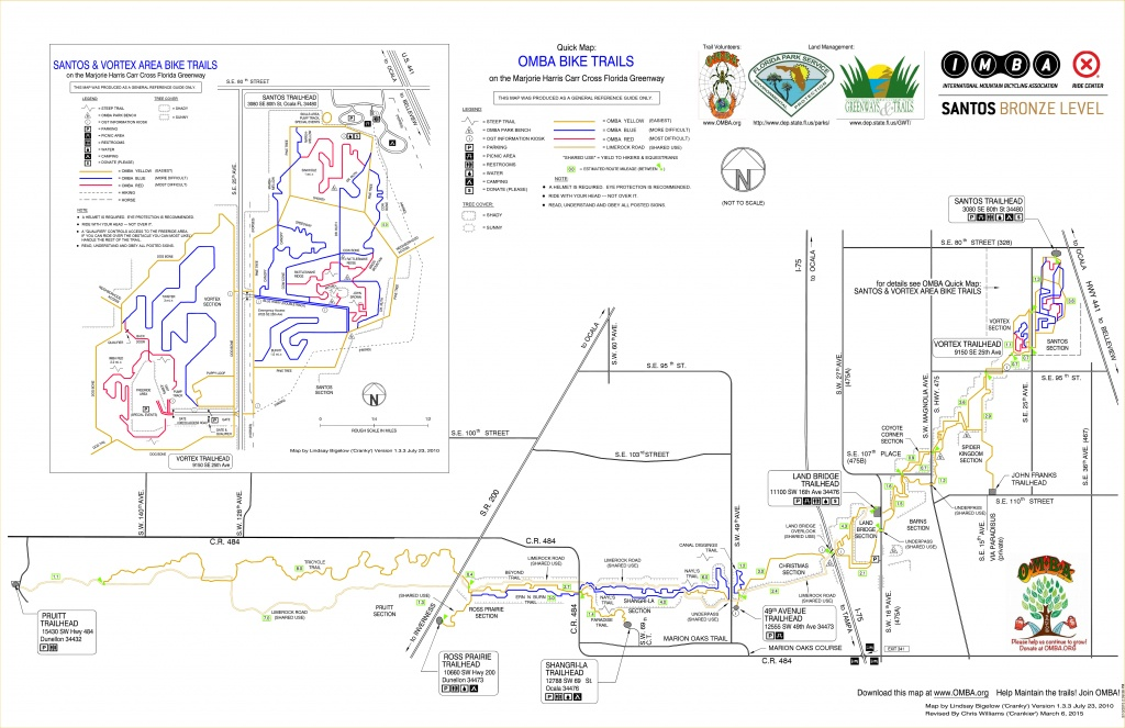 5 Great Singletrack Options For Florida Mountain Bikers - Central Florida Bike Trails Map