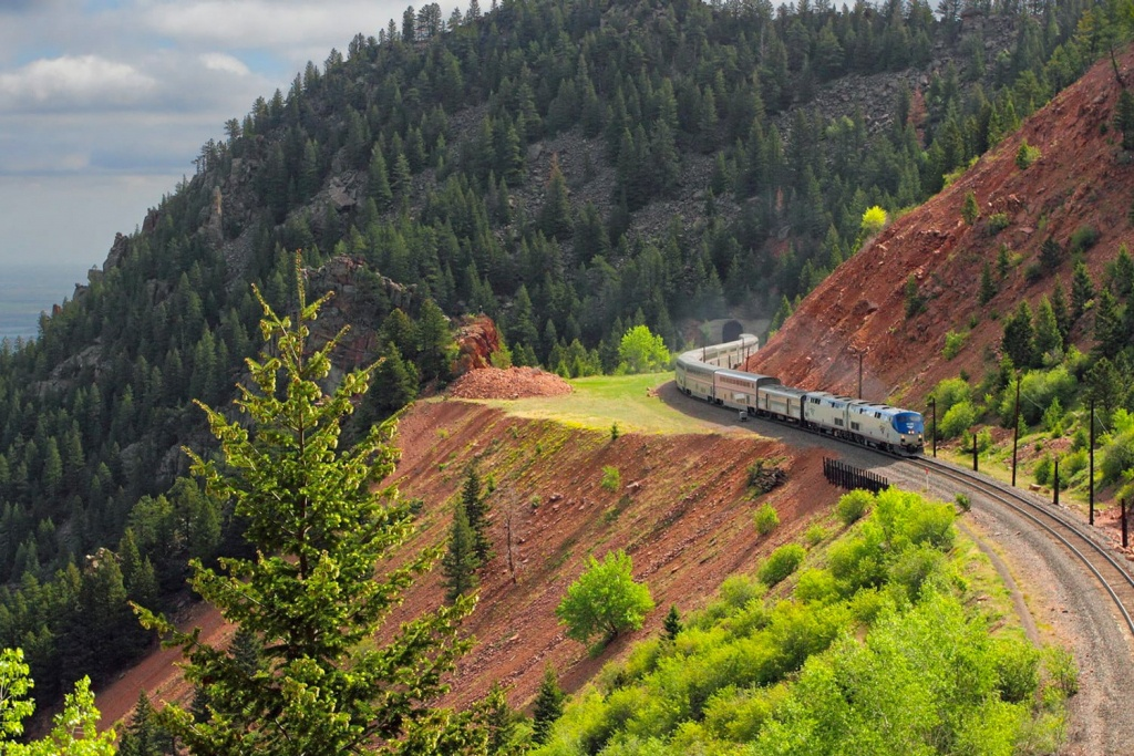 5 Most Scenic Amtrak Train Routes For Unparalleled Views Of The Usa - California Zephyr Map