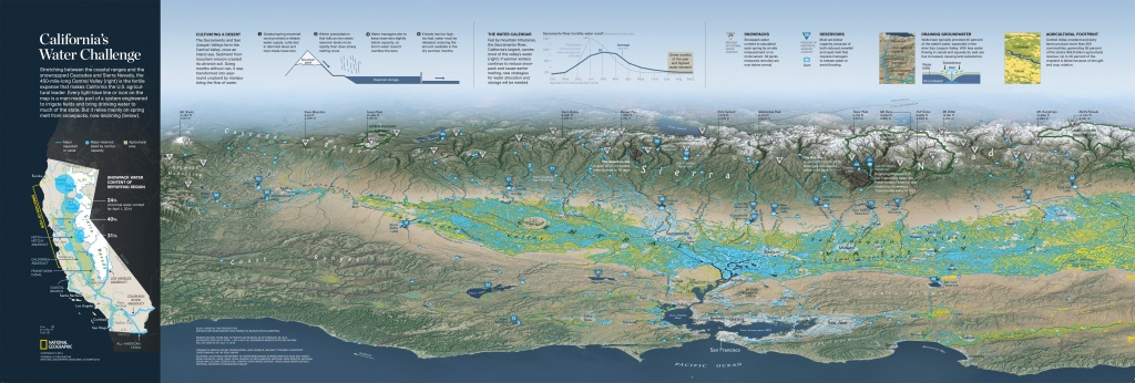 5 Things To Know About California's Water Crisis – National - National Geographic Maps California
